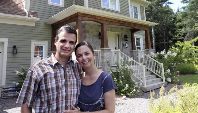 François et Isabelle, de Shefford, ont de quoi... (Photos Alain Dion)