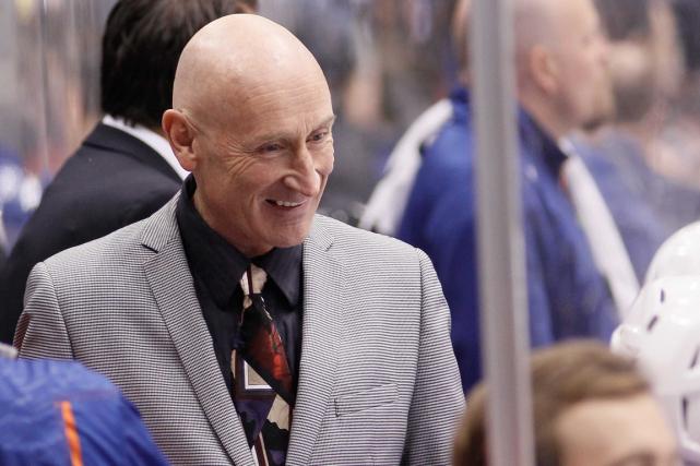 Craig Ramsay était entraîneur-adjoint avec les Oilers d'Edmonton... (Photo John E. Sokolowski, USA Today)