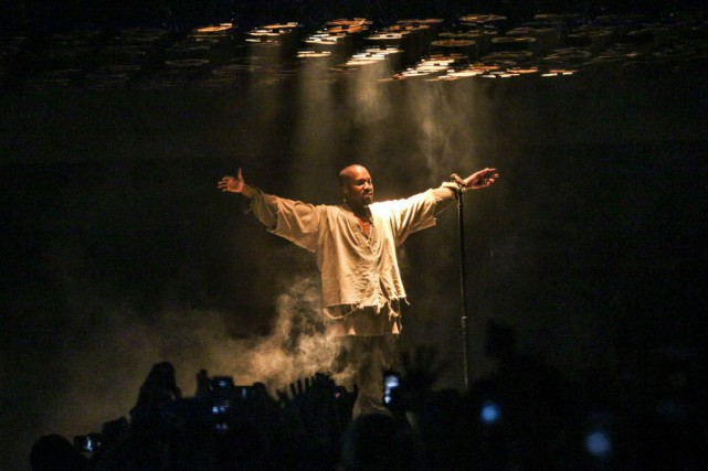 Kanye West... (Photo Rich Fury/Invision, AP)