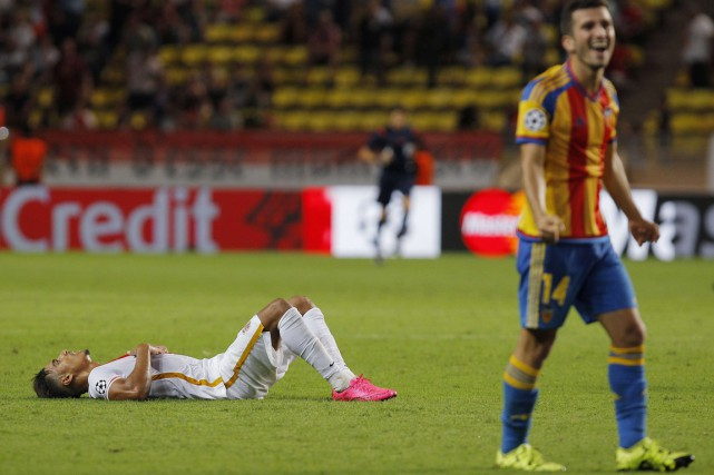 Monaco n'a pu complètement renverser une situation à... (Photo AFP)