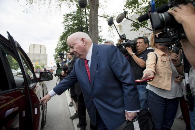 Le procès de Mike Duffy, qui en était... (Photo La Presse Canadienne)