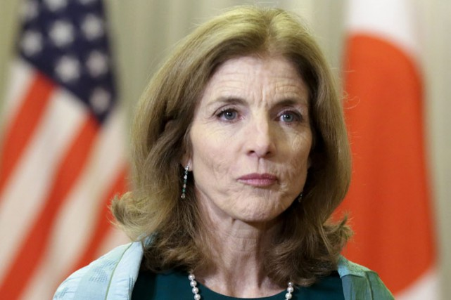 Caroline Kennedy... (PHOTO AP)