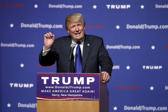 Donald Trump... (PHOTO AP)