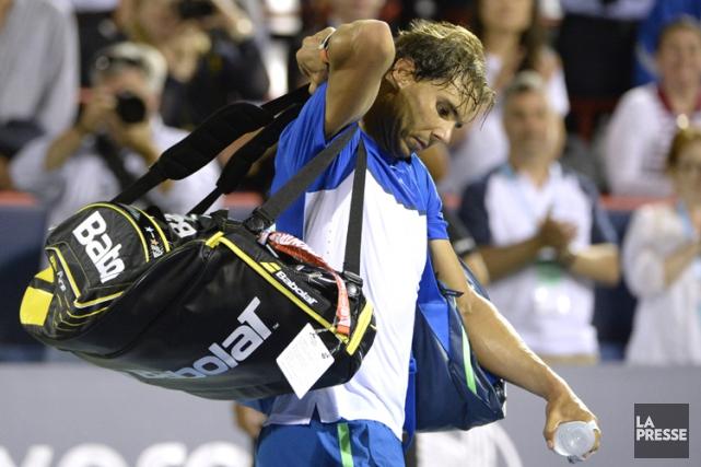Rafael Nadal... (PHOTO BERNARD BRAULT, LA PRESSE)