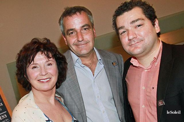 Le directeur général Gino Ste-Marie et le directeur... (Photothèque Le Soleil)