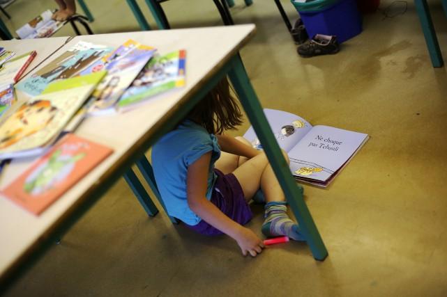Des centaines d'enfants sans papiers attendent toujours que... (PHOTO MARTIN CHAMBERLAND, ARCHIVES LA PRESSE)