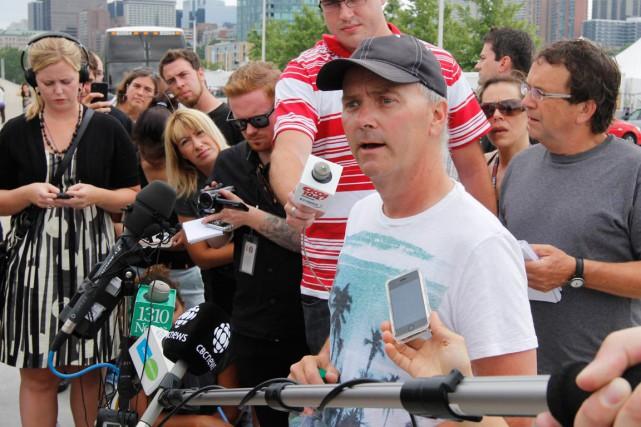 Le directeur du CityFolk, Mark Monahan, rappelle qu'on... (Martin Roy, Archives LeDroit)