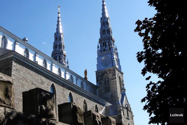 Les Oblats occupent le siège épiscopal d'Ottawa et... (Étienne Ranger, Archives LeDroit)