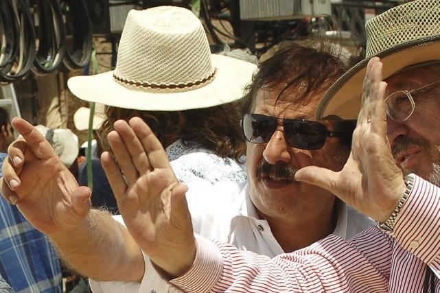 Le réalisateur Majid Majidi lors du tournage du... (PHOTO ARCHIVES AFP)