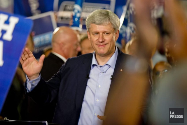 Stephen Harper... (PHOTO DAVID BOILY, ARCHIVES LA PRESSE)
