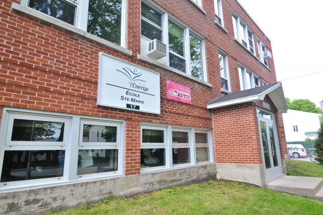 Le projet d'agrandissement de l'école Sainte-Marie à Saint-Boniface... (Émilie O'Connor)