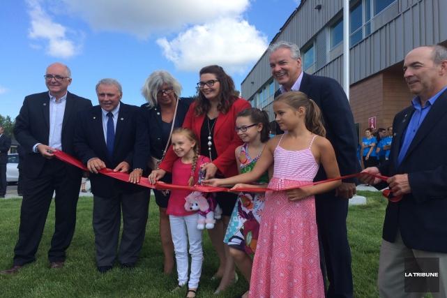 La CSRS a inauguré ses deux nouvelles écoles... (La Tribune, Isabelle Pion)