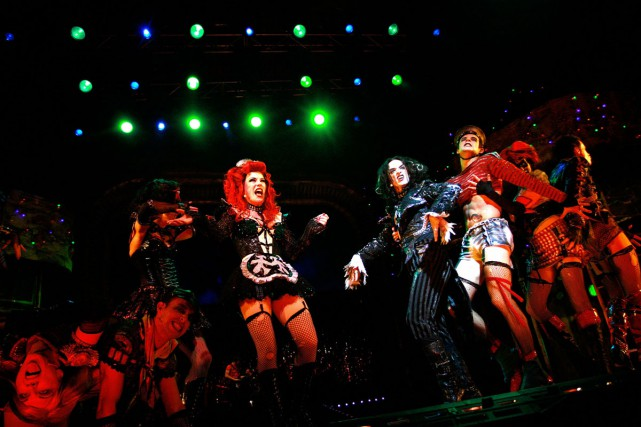 The Rocky Horror Show en 2008 à Sydney.... (PHOTO ARCHIVES AFP)
