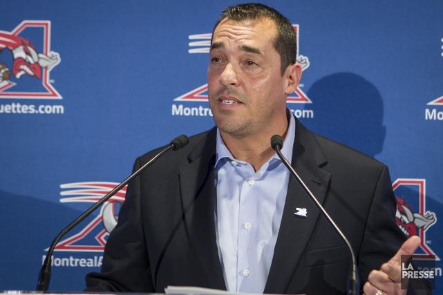 L'Almatois André Bolduc estime que les Alouettes de Montréal lui ont fait une... (Archives - La Presse)