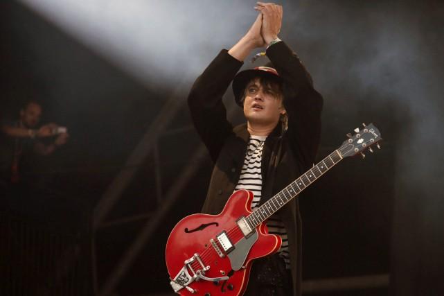 Pete Doherty a retrouvé les autres membres du... (PHOTO ARCHIVES AP)
