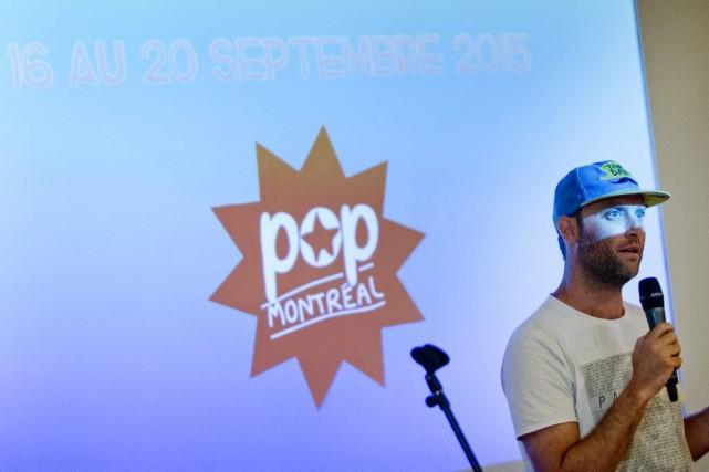 Dan Seligman, directeur artistique du festival Pop Montréal,...