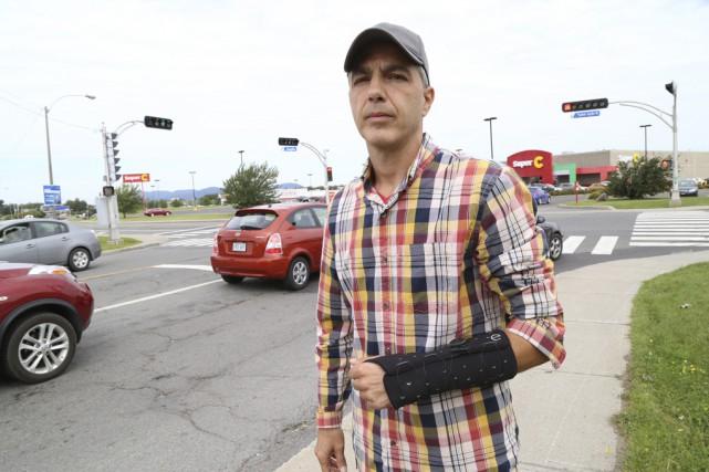 Stéphane St-Onge se remet des blessures qu'il a... (photo Janick Marois)