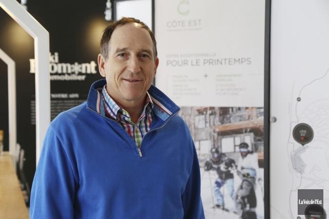 Le président de Ski Bromont immobilier, Charles Désourdy,... (photo archives La Voix de l'Est)