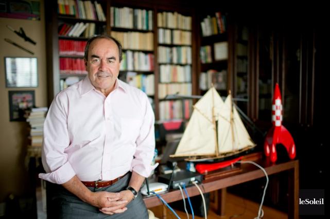 Jean-François Lépine, ancien journaliste de Radio-Canada, a été... (Photothèque le soleil)