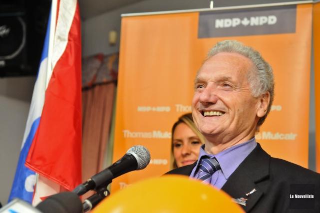 Jean-Yves Tremblay a été confirmé candidat néodémocrate dans... (Photo: Émilie O'Connor Le Nouvelliste)