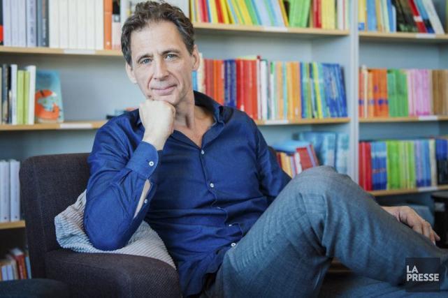 David Lagercrantz... (AFP, Jonathan Nackstrand)