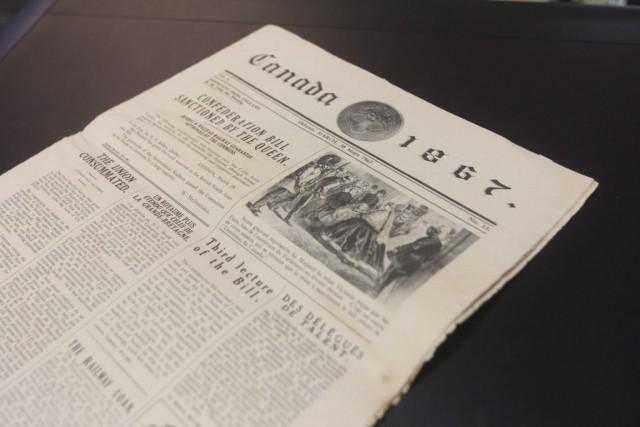 Les nouvelles ont bien changé depuis 1867, comme...