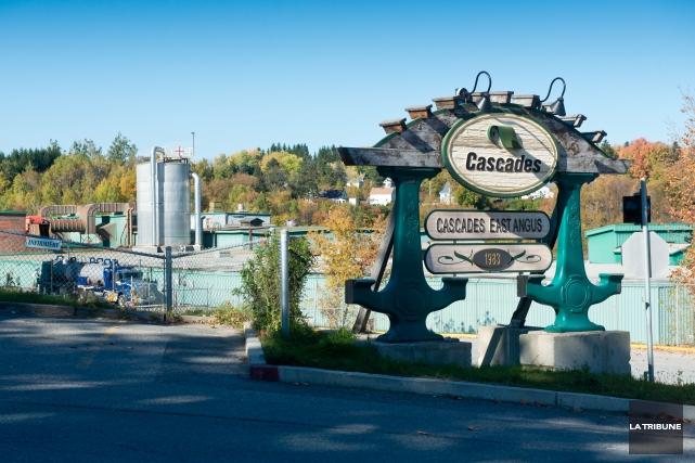 Les 90 travailleurs de l'ancienne cartonnerie Cascades d'East... (Imacom, Jessica Garneau)