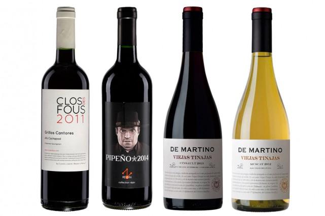 Pas besoin de se rendre au Chili pour goûter les vins originaux et... (Photos fournies par la SAQ)