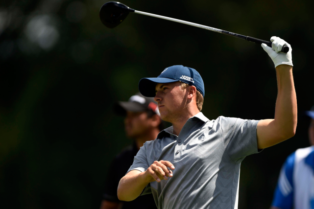 Jordan Spieth a joué une ronde de 74,... (Photo Eric Sucar, USA Today)