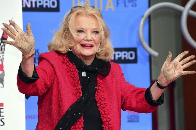 Gena Rowlands... (PHOTO ARCHIVES AFP)