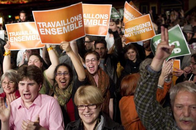 Le vote par Internet déterminera qui de Hélène... (Photo André Pichette, La Presse)