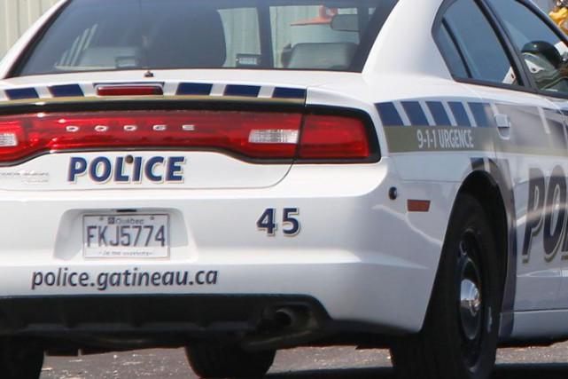 Service de police de la Ville de Gatineau.... (Photo Simon Séguin-Bertrand, archives Le Droit)
