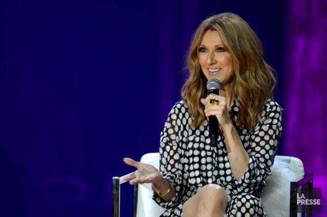 Céline Dion s'est prêtée au jeu des questions... (PHOTO BERNARD BRAULT, ARCHIVES LA PRESSE)