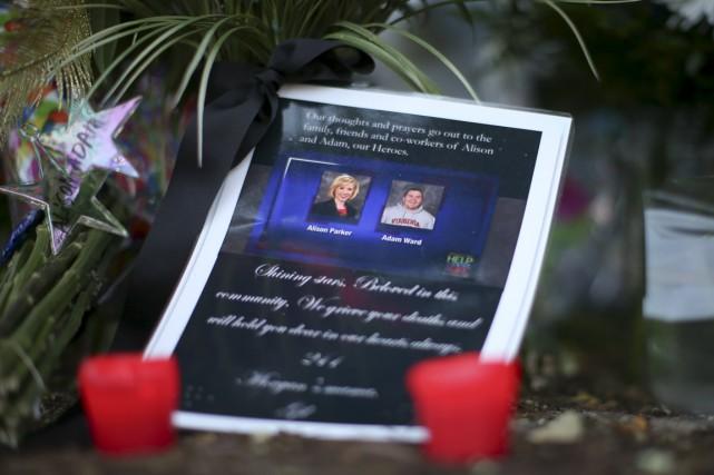 Peu après avoir tué Alison Parker et Adam... (PHOTO CHRIS KEANE, REUTERS)