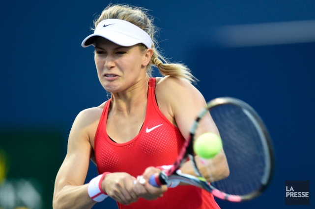 Eugenie Bouchard affrontera au premier tour des Internationaux des... (Photo Frank Gunn, PC)