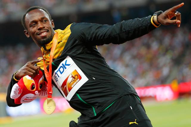 Usain Bolt aremporté un quatrième titre mondial au... (Photo Damir Sagolj, Reuters)