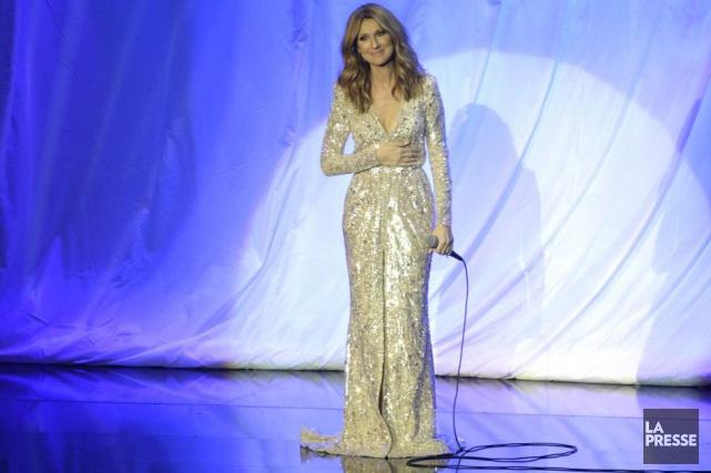 Céline Dion l'avait dit avant le spectacle d'hier soir: elle allait essayer de... (PHOTO BERNARD BRAULT, ARCHIVES LA PRESSE)