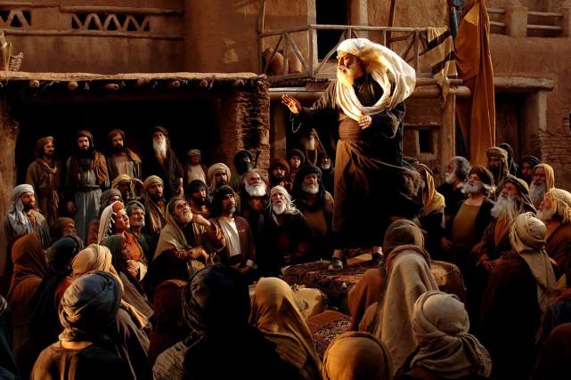 Le tournage du film Muhammad, présenté en ouverture... (PHOTO MOHAMMAD FOGHANI, ARCHIVES AGENCE FRANCE-PRESSE)