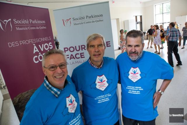 La Grande Randonnée Parkinson de la Mauricie et... (Photo: Olivier Croteau Le Nouvelliste)
