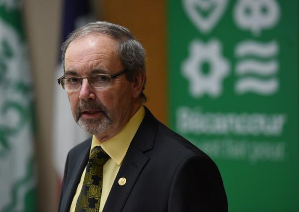 Le maire de Bécancour Jean-Guy Dubois.... (Photo: François Gervais Le Nouvelliste)