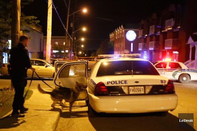 Un homme de 20 ans doit répondre vendredi à une accusation de vol de voiture,... (Simon Séguin-Bertrand, Archives LeDroit)