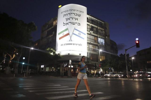 «L'ambassade d'Iran en Israël va bientôt ouvrir ici»,... (PHOTO AFP)
