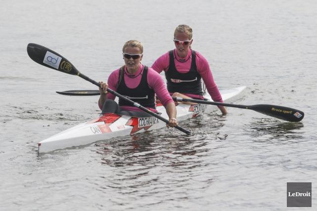 Madison MacKenzie et Monica Black ont remporté l'or... (Patrick Woodbury, LeDroit)