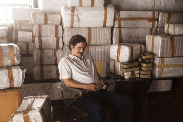 La série Narcos de la plateforme de diffusion vidéo en ligne Netflix a... (PHOTO ARCHIVES AP)
