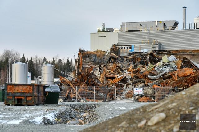 L'explosion ayant détruit les installations est survenue le... (Archives La Tribune)