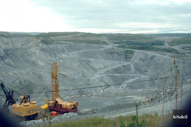 Les ressources minières pullulent dans notre sous-sol, dit... (Photothèque Le Soleil, Ian Bussières)