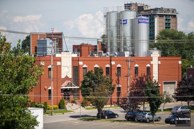 L'usine Saputo du centre-ville de Trois-Rivières cessera définitivement... (Photo: Olivier Croteau Le Nouvelliste)