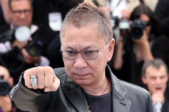 Le réalisateur Takashi Miike... (PHOTO ARCHIVES AFP)