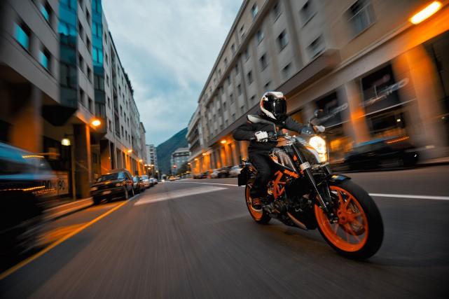 L'année moto 2015 passera à l'histoire pour des raisons complètement opposées.... (PHOTO FOURNIE PAR KTM)