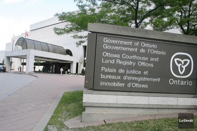 Le palais de justice d'Ottawa... (Archives, LeDroit)